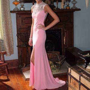 Blush Prom dress size 0
